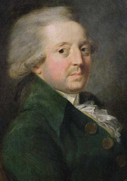Portrait du Marquis de Condorcet (1743-1794) par Jean-Baptiste Greuze (1725–1805)